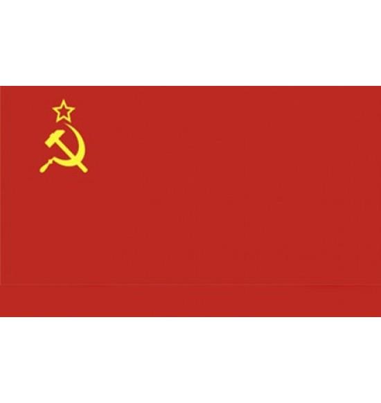 Полотно флага 9 мая CCCP (145см на 90 см ) капрон