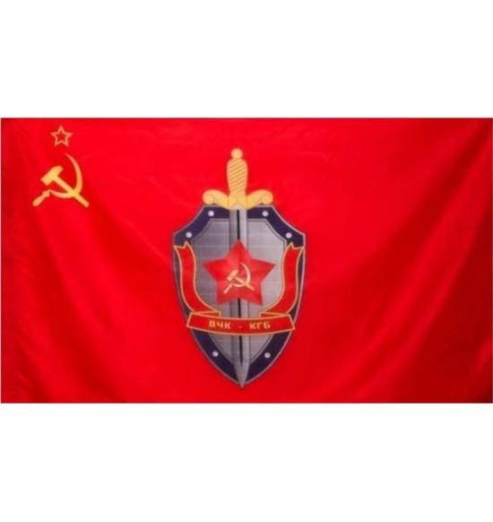 """Полотно Флага """"CCCP КГБ """" (145 см на 90 см ) капрон"""