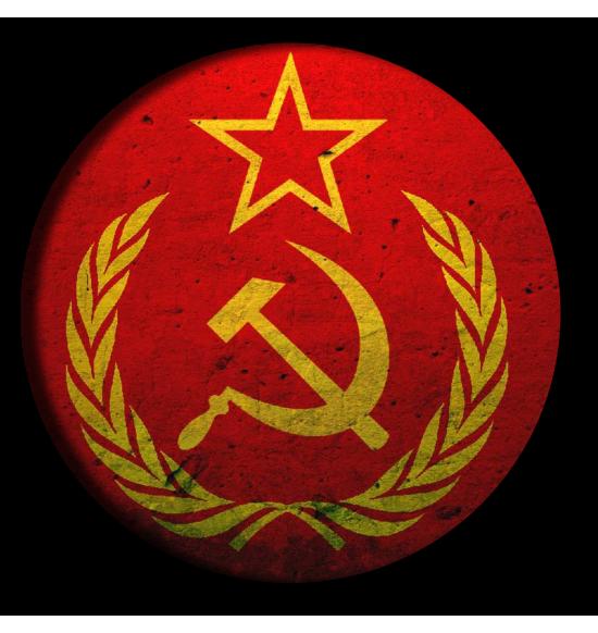 """Значок закатной D56 """"СССР серп молот звезда"""""""