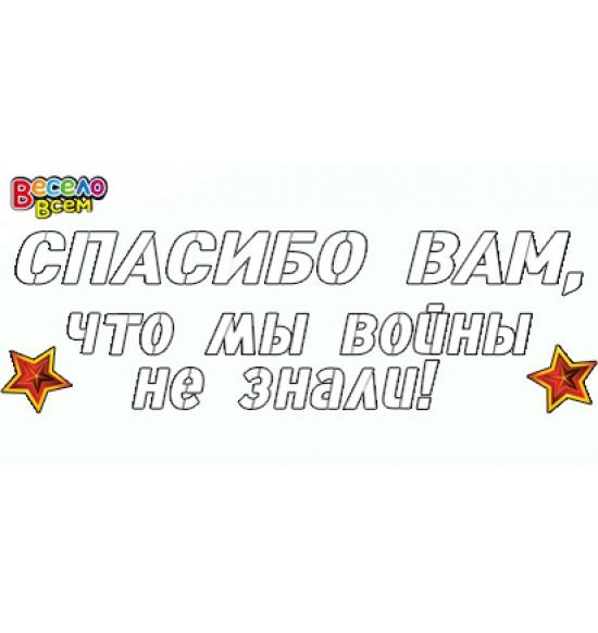 Наклейки на День Победы, Набор для декорирования,  (1 шт.), 60 р. за 1 шт.