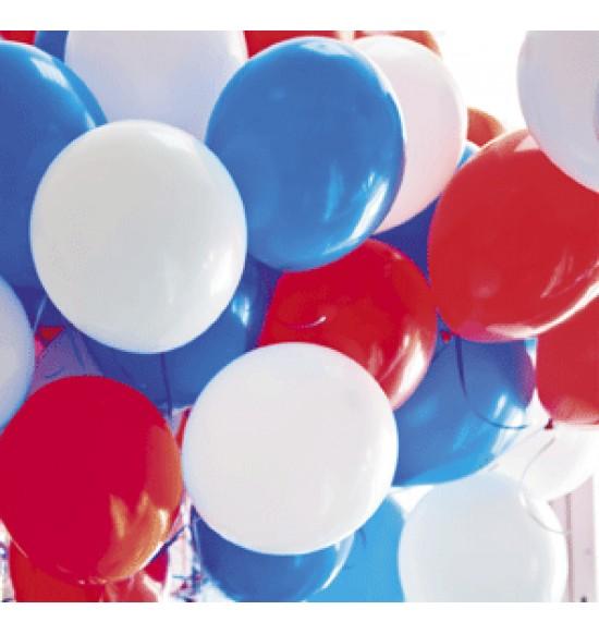 """Воздушные шары 9 мая, AVP14-013  Воздушный шар латексный 14"""" стандарт (ПАСТЕЛЬ), 50 шт/упак. Ассорти,  (50 шт.), 4.2 р. за 1 шт."""